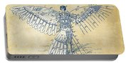Icarus Human Flight Patent Artwork - Vintage Portable Battery Charger