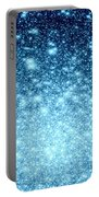 Ice Blue Galaxy Stars Portable Battery Charger