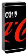Ice Cold Coke 8 Coca Cola Art Portable Battery Charger