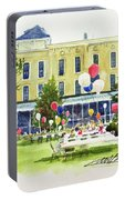 Ice Cream Social And Strawberry Festival, Lakeside, Oh Portable Battery Charger