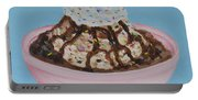 Ice Cream Sundae With Sprinkles Portable Battery Charger