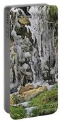 Ice Droplets  Portable Battery Charger
