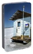 Ice Fishing Shack Portable Battery Charger