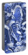 Ice Patterns 1  Portable Battery Charger