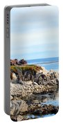 Ice Plant Along The Monterey Shore 2 Portable Battery Charger