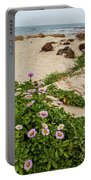 Ice Plant Booms On Pebble Beach Portable Battery Charger