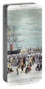 Ice Skaters, C1856 Portable Battery Charger
