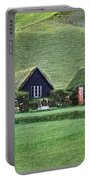 Icelandic Turf Homes Portable Battery Charger
