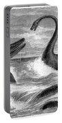 Ichthyosaurus And Plesiosaurus Portable Battery Charger