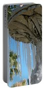 Icicles In A Palm Filled Sky Number 1 Portable Battery Charger