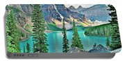 Iconic Banff National Park Attraction Portable Battery Charger