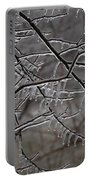 Icy Branches Portable Battery Charger