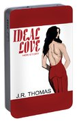 Ideal Love Book Cover Portable Battery Charger