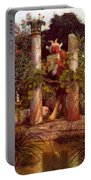 Idyll Pan Amidst Columns 1875 Portable Battery Charger