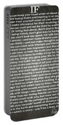 If Poem By Rudyard Kipling Portable Battery Charger