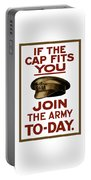 If The Cap Fits You Join The Army Portable Battery Charger
