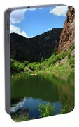 If You Seek Beauty In A River  Portable Battery Charger