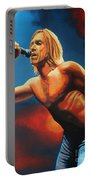 Iggy Pop Painting Portable Battery Charger