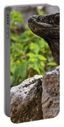 Iguana At Talum Ruins Mexico 2 Portable Battery Charger