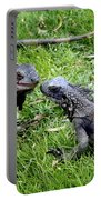 Iguana Kisses St Thomas Portable Battery Charger
