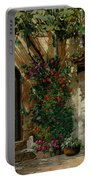Il Giardino Francese Portable Battery Charger by Guido Borelli