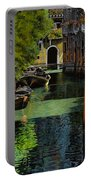 il palo rosso a Venezia Portable Battery Charger by Guido Borelli