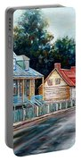 Ile D'orleans Quebec Street Scene Portable Battery Charger