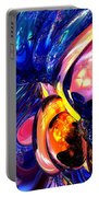 Illuminate Abstract  Portable Battery Charger