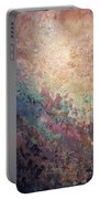 Illuminated Valley I Diptych Portable Battery Charger by Shadia Derbyshire