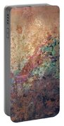 Illuminated Valley II Diptych Portable Battery Charger by Shadia Derbyshire