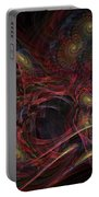 Illusion And Chance - Fractal Art Portable Battery Charger