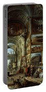 Imaginary Gallery Of Views Of Ancient Rome Portable Battery Charger