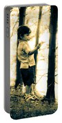 Imagination And Adventure Portable Battery Charger by Bob Orsillo