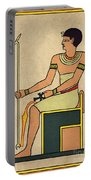 Imhotep, Egyptian Polymath Portable Battery Charger