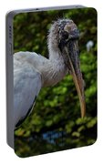 Immature Wood Stork Portable Battery Charger