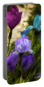 Impossible Irises Portable Battery Charger