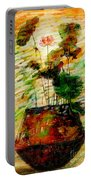 Impression In Lotus Tree Portable Battery Charger