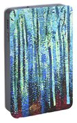 Impression Of Trees Portable Battery Charger