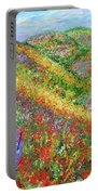 Impressionism- Flowers- Dreaming Of Spring Portable Battery Charger