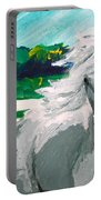 Impressionism Horse Portable Battery Charger