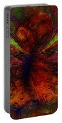 Impressionist Butterfly Portable Battery Charger