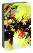 Impressionist Flowers #112, Portable Battery Charger