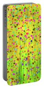 Impressionist Meadow Portable Battery Charger