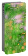 Impressionistic Blossom 5 At Britain Park Portable Battery Charger