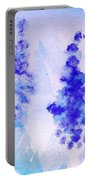 Impressionistic Lupines 1 Portable Battery Charger