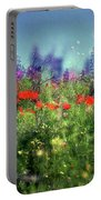 Impressionistic Springtime Portable Battery Charger