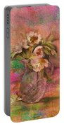 Impressionistic Still Life  Portable Battery Charger