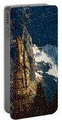 In A High Place Impasto Portable Battery Charger