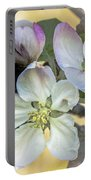 In Apple Blossom Time Portable Battery Charger