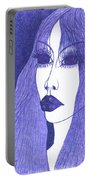 In Blue Colour Portable Battery Charger